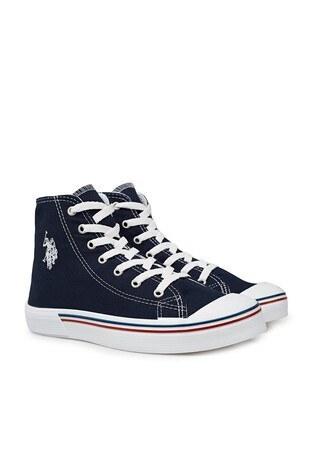 U.S. Polo Sneaker Bayan Ayakkabı PENELOPE HIGH 1FX LACİVERT