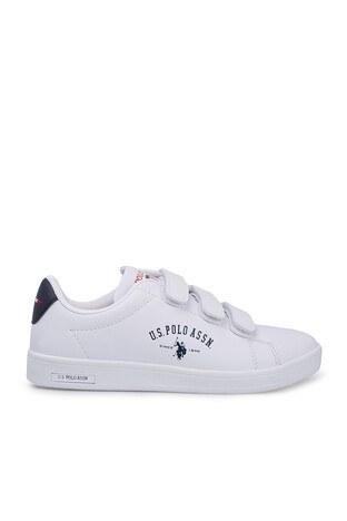 U.S. Polo Assn - U.S. Polo Sneaker Bayan Ayakkabı SINGER BEYAZ