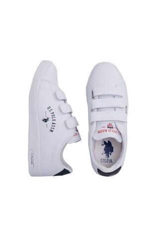 U.S. Polo Sneaker Bayan Ayakkabı SINGER BEYAZ