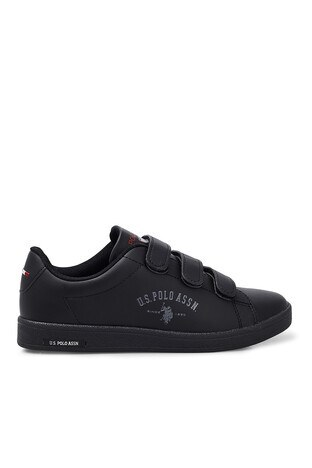 U.S. Polo Assn - U.S. Polo Sneaker Bayan Ayakkabı SINGER SİYAH-SİYAH