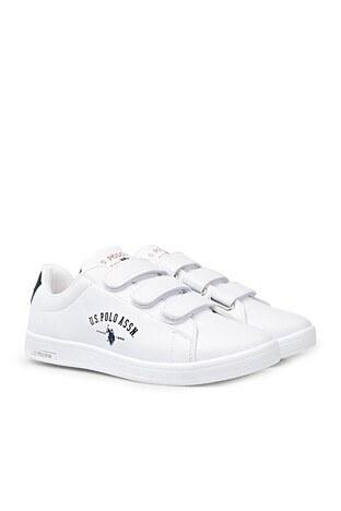U.S. Polo Sneaker Bayan Ayakkabı SINGER WMN 1FX BEYAZ