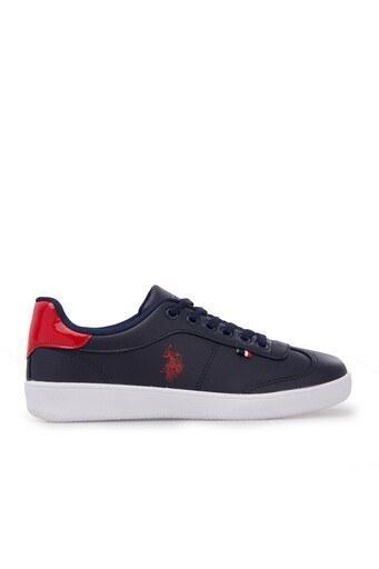U.S. Polo Sneaker Bayan Ayakkabı SOMMER LACİVERT-BORDO