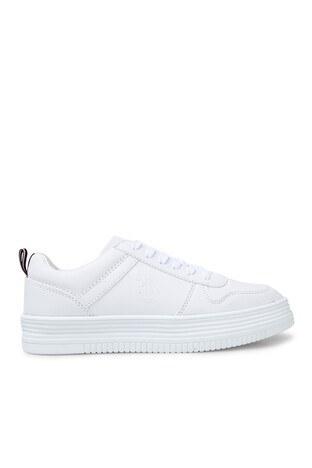 U.S. Polo Assn - U.S. Polo Sneaker Bayan Ayakkabı SURI BEYAZ