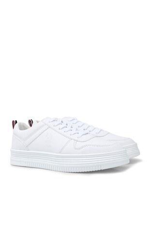 U.S. Polo Sneaker Bayan Ayakkabı SURI BEYAZ