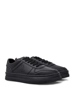U.S. Polo Sneaker Bayan Ayakkabı SURI SİYAH