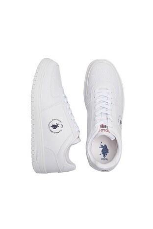 U.S. Polo Erkek Ayakkabı DIMLER 1FX BEYAZ