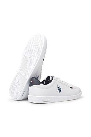 U.S. Polo Sneaker Erkek Ayakkabı FRANCO 1FX BEYAZ