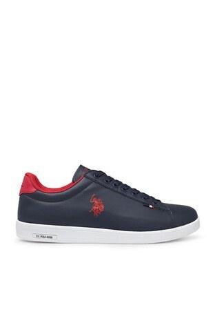 U.S. Polo Assn - U.S. Polo Sneaker Erkek Ayakkabı FRANCO 1FX LACİVERT