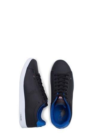U.S. Polo Sneaker Erkek Ayakkabı FRANCO 1FX SİYAH