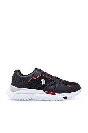 U.S. Polo Assn - U.S. Polo Sneaker Erkek Ayakkabı HOLD TEX SİYAH