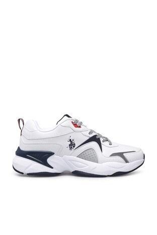 U.S. Polo Assn - U.S. Polo Sneaker Erkek Ayakkabı JIMMY BEYAZ
