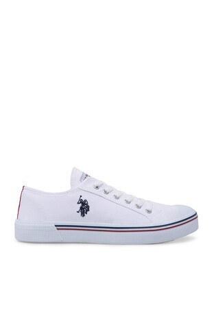 U.S. Polo Assn - U.S. Polo Sneaker Erkek Ayakkabı PENELOPE BEYAZ