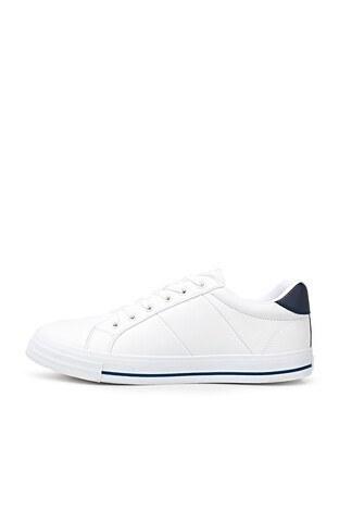 U.S. Polo Sneaker Erkek Ayakkabı PURE 1FX BEYAZ