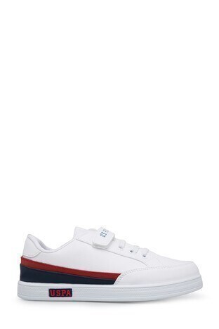 U.S. Polo Assn - U.S. Polo Sneaker Erkek Çocuk Ayakkabı JAMAL BEYAZ