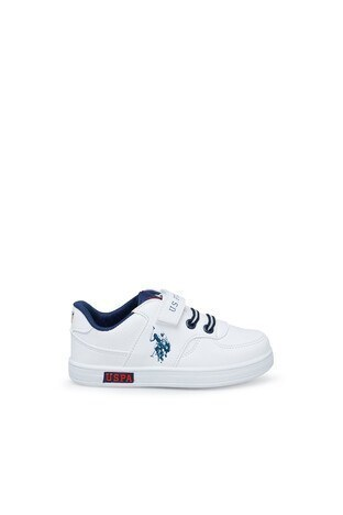U.S. Polo Sneaker Unisex Ayakkabı CAMERON 1FX BEYAZ