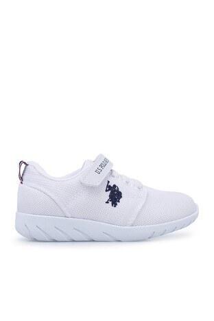 U.S. Polo Assn - U.S. Polo Sneaker Unisex Ayakkabı HONEY BEYAZ