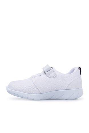 U.S. Polo Sneaker Unisex Ayakkabı HONEY BEYAZ