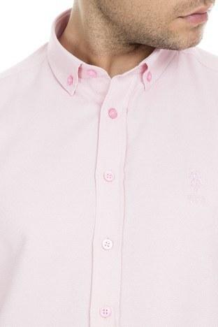 U.S.Polo Erkek Gömlek G081GL004 774648 PEMBE