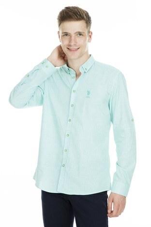 U.S.Polo Erkek Gömlek G081SZ004 738874 MİNT