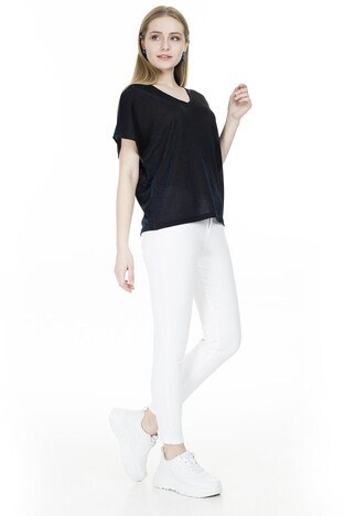 Vero Moda Vmdenise Bayan Bluz 10221623 LACİVERT