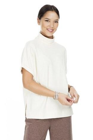 Vero Moda - Vero Moda Vmfallulah Bayan Kazak 10222088 EKRU