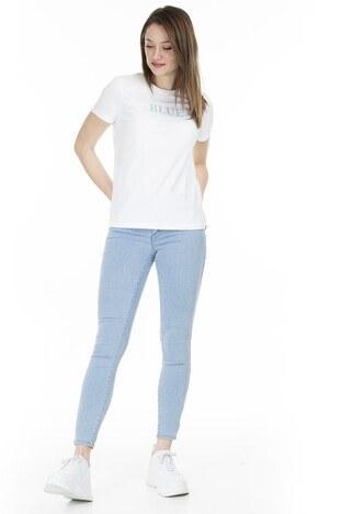 Vero Moda - Vero Moda Vmjulia Jeans Bayan Kot Pantolon 10211611 AÇIK MAVİ