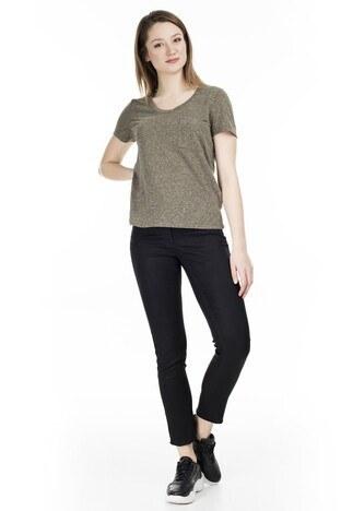 Vero Moda Vmkanyadiana Bayan T Shirt 10227923 HAKİ