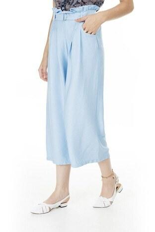 Vero Moda - Vero Moda Vmpaige Bayan Pantolon 10230661 MAVİ