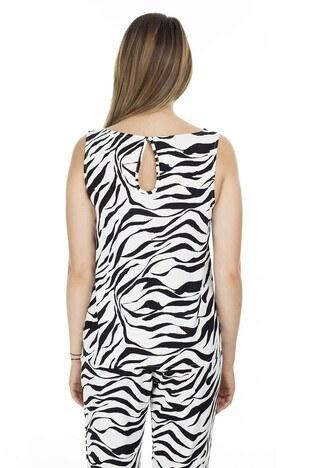 Vero Moda Vmsimply Bayan Bluz 10227823 Ekru-Beyaz