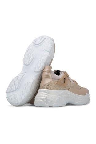Via Dante Bağcıklı Bayan Ayakkabı 432K5428VD GOLD