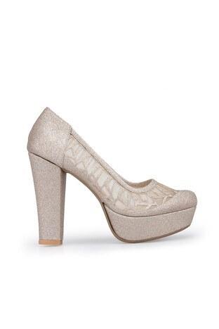 Yurci - Yurci Topuklu Bayan Ayakkabı 2051219 DORE